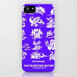 Mutaboids iPhone Case