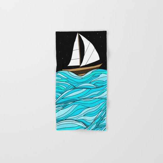 Night Sea Hand & Bath Towel