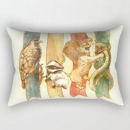 House Brawl Rectangular Pillow