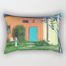 Railroad Square Rectangular Pillow