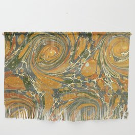 Old Marbled Paper 03 Wall Hanging