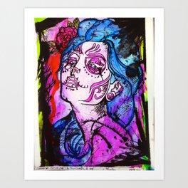 Muertos Art Print