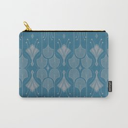 Art Deco Botanical Shapes Carry-All Pouch