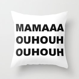 Bohemian Rhapsody Throw Pillow