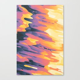 Plasmic Ejection // 67c Canvas Print