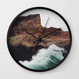 Montaña Wave Wall Clock