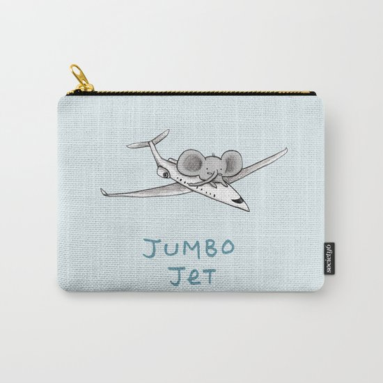 Jumbo Jet Carry-All Pouch