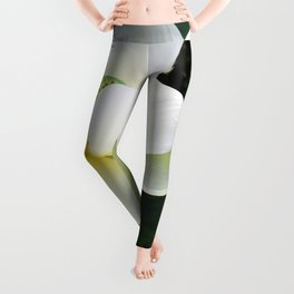 White Lotus Leggings