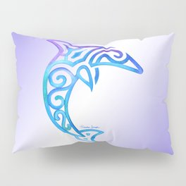 Tribal Dolphin Pillow Sham