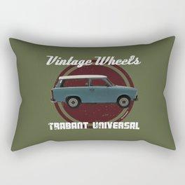 Vintage Wheels: Trabant 601 Universal Rectangular Pillow