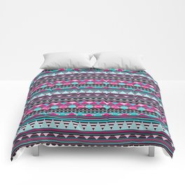 Aztec Stripes by Everett Co Comforters