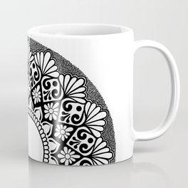 Mandala B&W Coffee Mug