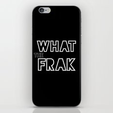 what the frak iPhone & iPod Skin