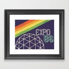 Expo 86 Framed Art Print