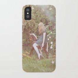 little rocking horse iPhone Case