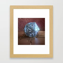 #Electric #Icosa - 20160813 Framed Art Print
