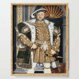Henry VIII portrait Serving Tray