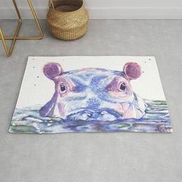 Happy Hippo Fiona Rug