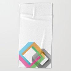 Penrose Diamonds Beach Towel