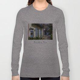 Charleston SC No.3 House on Rainbow Row Long Sleeve T-shirt