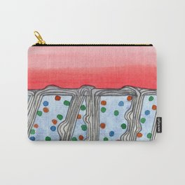 Color Uptake Carry-All Pouch