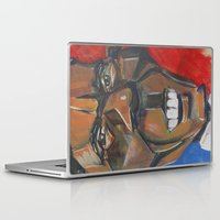 obama Laptop & iPad Skins featuring Obama Abstract by creativecurran