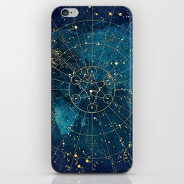 Star Map :: City Lights iPhone Skin