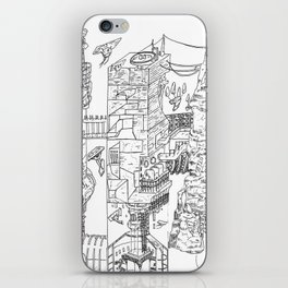 City Of Thieves iPhone Skin