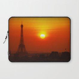 Red Paris Laptop Sleeve