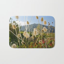 Meadow of Sicilian Spring Bath Mat