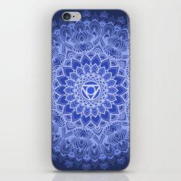 Vishuddha chakra iPhone Skin