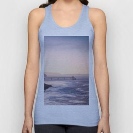 Clevedon Sea front Unisex Tank Top