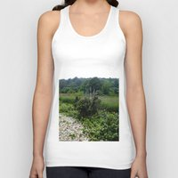 cape cod Tank Tops featuring Cape Cod Bramble by JezRebelle