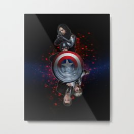 Steve and Bucky (Stucky) - Some Things... (version 1) Metal Print
