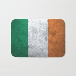 Distressed Irish Flag Bath Mat