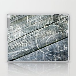 graffiti wood Laptop & iPad Skin