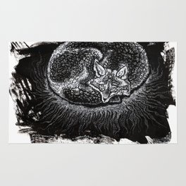 Nocturnal Fox Rug