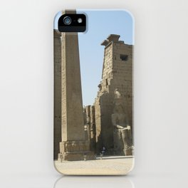 Temple of Luxor, no. 1 iPhone Case