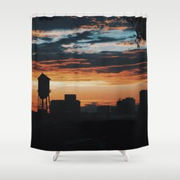 Libby Hill Sunset Shower Curtain