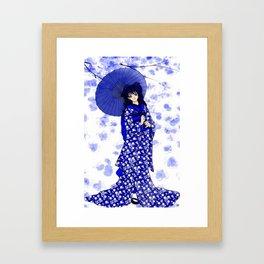 Japonaise 2 Framed Art Print