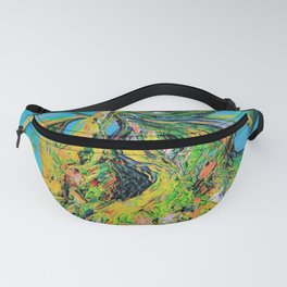 Abstract Pears Fanny Pack