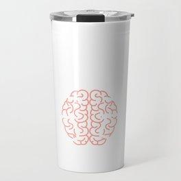 """Das Gehirn Eines Geocachers Muggel Detektor Ftf Booster Koordinaten Cerebellum Gps Tracker"" T-shirt Travel Mug"