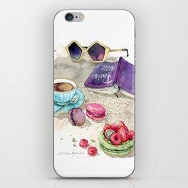 Tea time iPhone Skin