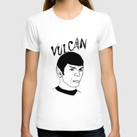 spock T-shirts featuring Mister Spock by Emmanuelle Ly