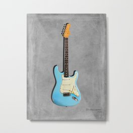 The 64 Stratocaster Metal Print