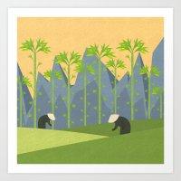 vietnam Art Prints featuring Vietnam by Illusorium