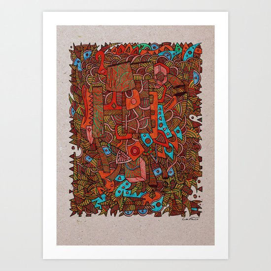 - antiques - Art Print