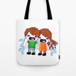 Weepy Twins Tote Bag