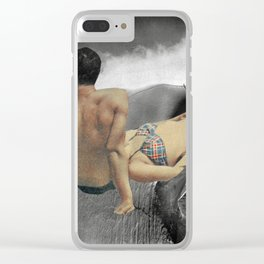 Relax 1 Clear iPhone Case