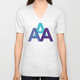 TRIALPHA Unisex V-Neck